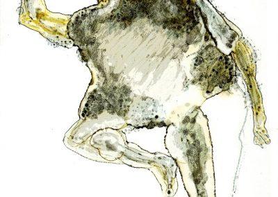 Halay, Filzstiftfarbe, 21x14,8 cm